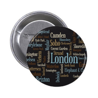 Correspondencia de texto de Londres Pin