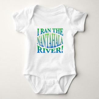 Corrí el río de Nantahala Body Para Bebé