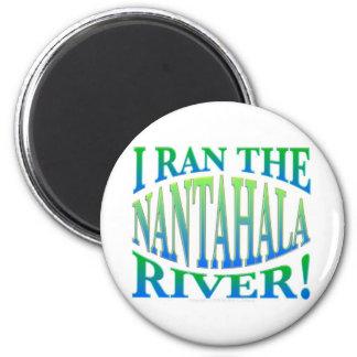 Corrí el río de Nantahala Imán Redondo 5 Cm