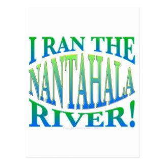 Corrí el río de Nantahala Tarjeta Postal