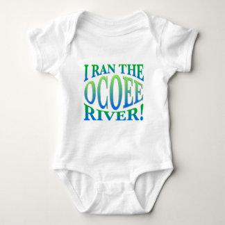 Corrí el río de Ocoee Body Para Bebé