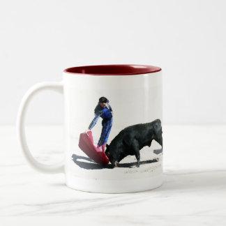 Corrida  Two-Tone coffee mug
