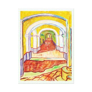 Corridor in Saint-Paul Hospital Vincent van Gogh Canvas Prints