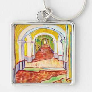 Corridor in Saint-Paul Hospital Vincent van Gogh Keychain