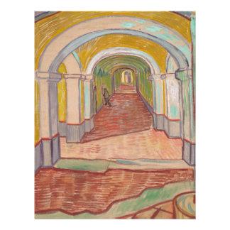 Corridor in Saint-Paul Hospital Vincent van Gogh Letterhead