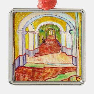 Corridor in Saint-Paul Hospital Vincent van Gogh Christmas Ornaments
