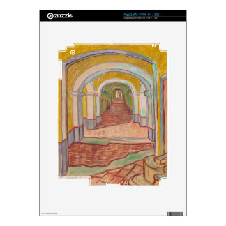 Corridor in Saint-Paul Hospital Vincent van Gogh Skins For The iPad 2