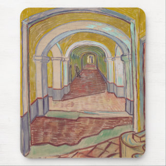 Corridor in the Asylum by Vincent Van Gogh Mouse Pad