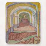 Corridor in the Asylum by Vincent Van Gogh Mousepads