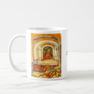 Corridor in the Asylum by Vincent van Gogh Classic White Coffee Mug