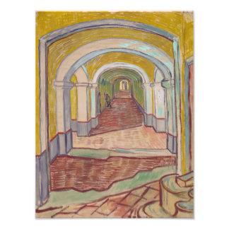 Corridor in the Asylum by Vincent Van Gogh Photo Print