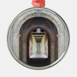 Corridor of Pillars Christmas Ornaments