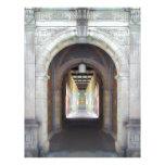 Corridor of Pillars Personalized Letterhead