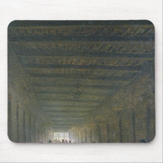 Corridor of the Saint-Lazare Prison in 1793 Mouse Pad