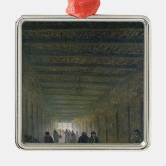 Corridor of the Saint-Lazare Prison in 1793 Ornament