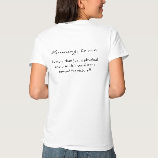 Corriendo, a mí t-shirts