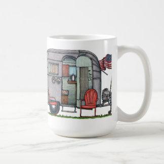 Corriente aérea taza de café