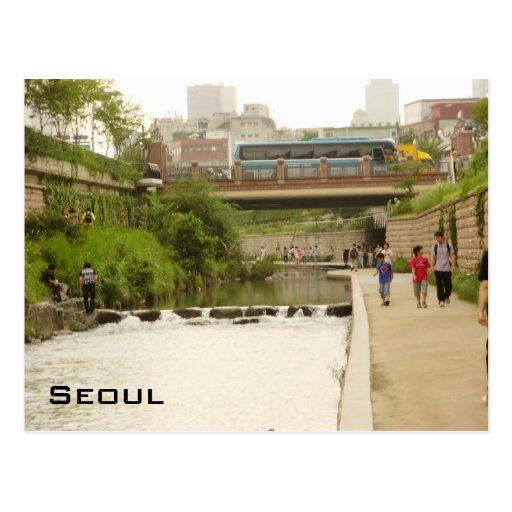 Corriente de Cheonggye Postal