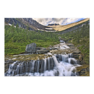 Corriente de conexión en cascada, Parque Nacional  Fotografía