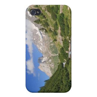 Corriente de Dora, valle de Veny iPhone 4 Cárcasa