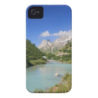 Corriente de Dora, valle de Veny, Italia Case-Mate iPhone 4 Carcasa