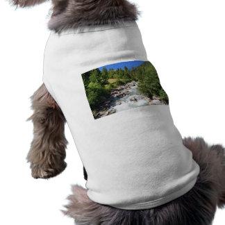Corriente de Vermigliana, Trentino, Italia Camiseta De Mascota