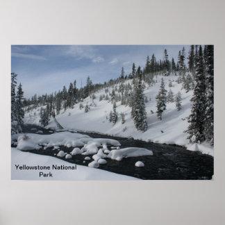Corriente de Yellowstone Poster