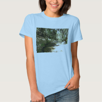 Corriente del agua camisas