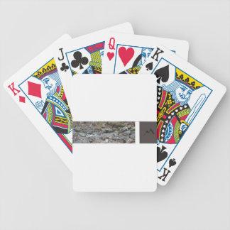 Corriente del hombre de la montaña baraja de cartas