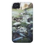 Corriente del invierno iPhone 4 Case-Mate fundas