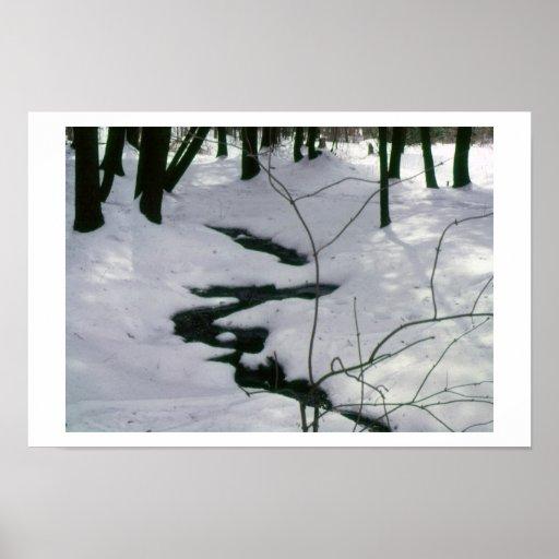 Corriente del invierno poster