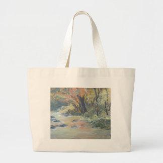 Corriente del otoño bolsa de mano