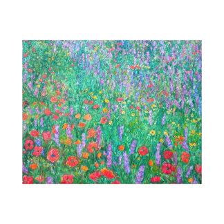 Corriente del Wildflower Lienzo Envuelto Para Galerias