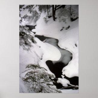 Corriente en invierno póster