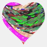 Corriente ideal: Arte gráfico Pegatina Corazon Personalizadas