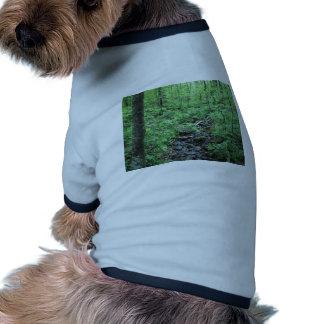 Corriente que corre a través de la cañada de Forre Camiseta De Perrito