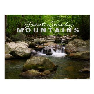 Corrientes y ríos - Great Smoky Mountains Postales