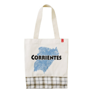 Corrientes Zazzle HEART Tote Bag
