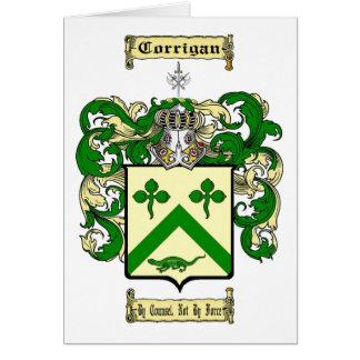 Corrigan Greeting Card