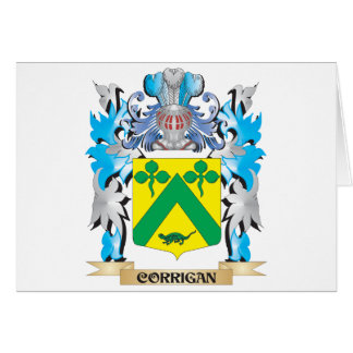 Corrigan Coat of Arms - Family Crest Card