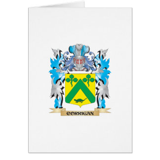 Corrigan Coat of Arms - Family Crest Greeting Cards