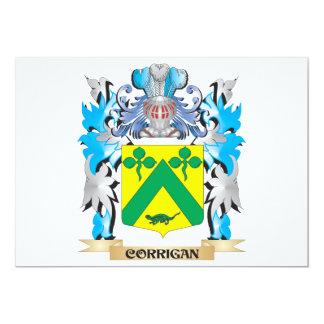 Corrigan Coat of Arms - Family Crest Invitations