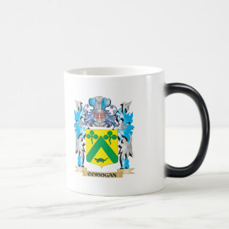 Corrigan Coat of Arms - Family Crest 11 Oz Magic Heat Color-Changing Coffee Mug