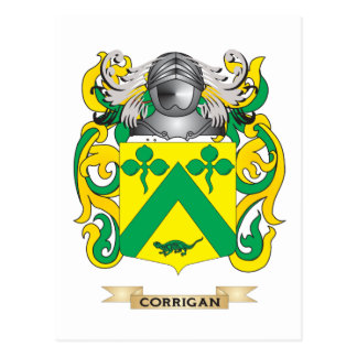 Corrigan Coat of Arms Postcard