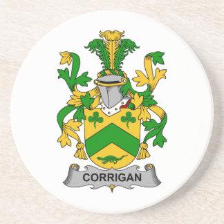 Corrigan Family Crest Drink Coasters