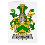 Corrigan Family Crest Greeting Card