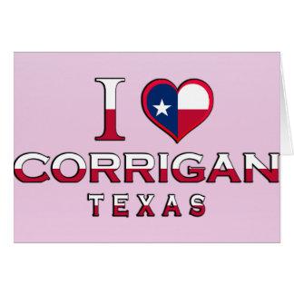 Corrigan, Texas Card