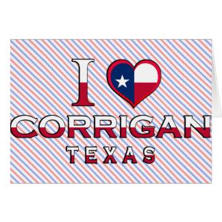 Corrigan, Texas Greeting Card
