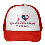 Corrigan, Texas Mesh Hats