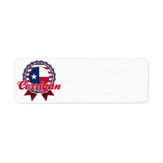 Corrigan, TX Custom Return Address Label